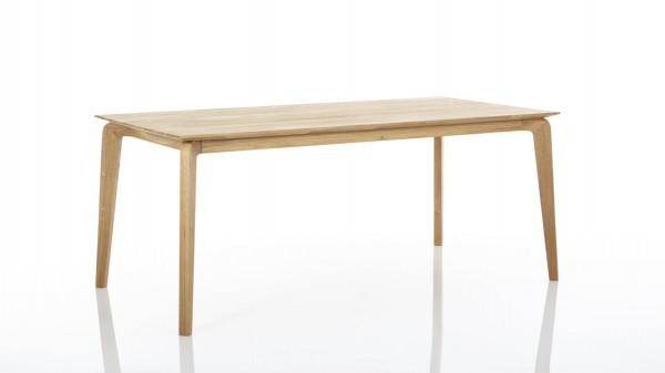 Esstisch bzw. Massivholztisch aus Eichenholz als Esszimmermöbel