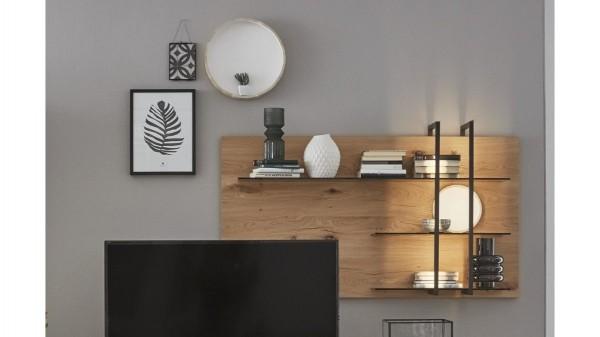 Interliving Wohnzimmer Serie 2104 - Wandregal, rechts