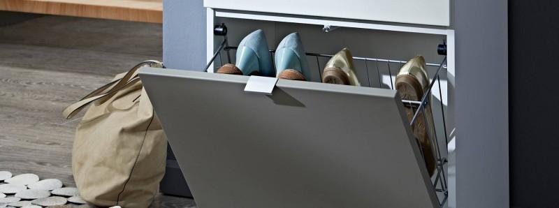 schuhschr nke glei ner. Black Bedroom Furniture Sets. Home Design Ideas