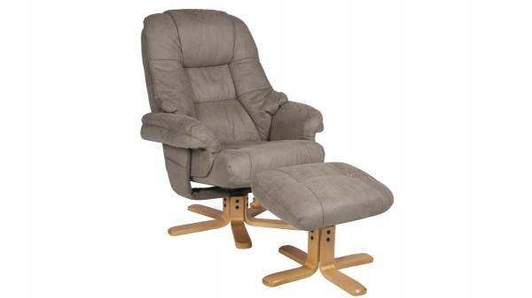 Relaxsessel mit Hocker bzw. Polstermöbel