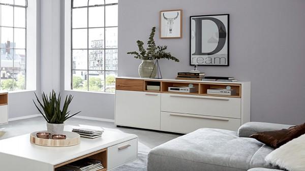 Interliving Wohnzimmer Serie 2102 - Sideboard 510206 mit Sockel