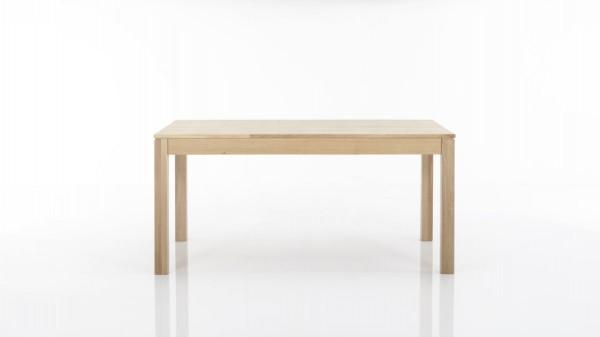 Massivholztisch mit Gestellauszug