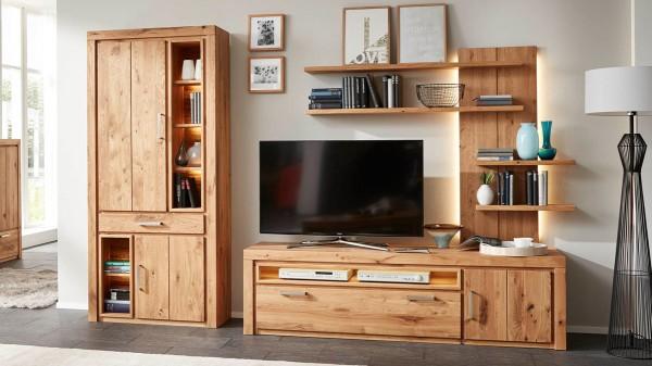 Interliving Wohnzimmer Serie 2003 - Wohnkombination mit Beleuchtung