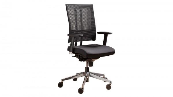 Chefsessel als Schreibtischstuhl mit individueller Körpergewichtseinstellung