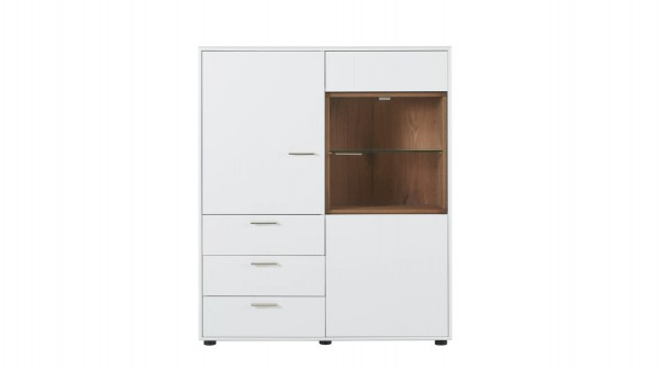 Interliving Wohnzimmer Serie 2102 - Highboard 510541