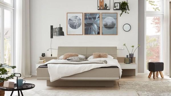 Interliving Schlafzimmer Serie 1009 - siebenteiliges Doppelbettgestell