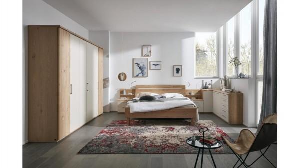 Interliving Schlafzimmer Serie 1013 - Komplettzimmer mit Beleuchtung