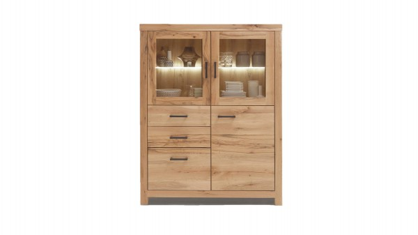 WOODS & TRENDS Highboard Vintage-Dining bzw. Kommode
