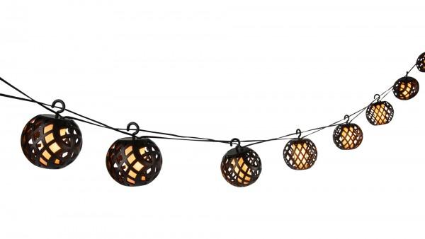 Interliving BEST BUDDYS! LED-Solar-Lichterkette