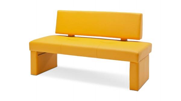 Polsterbank mit Rückenlehne als ideale Sitzbank