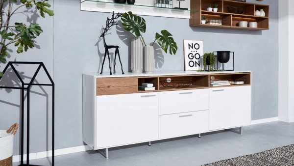 Interliving Wohnzimmer Serie 2102 - Sideboard 510366