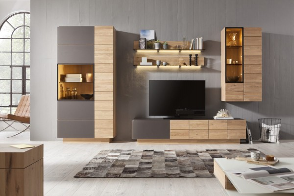 voglauer v montana wohnkombination glei ner. Black Bedroom Furniture Sets. Home Design Ideas