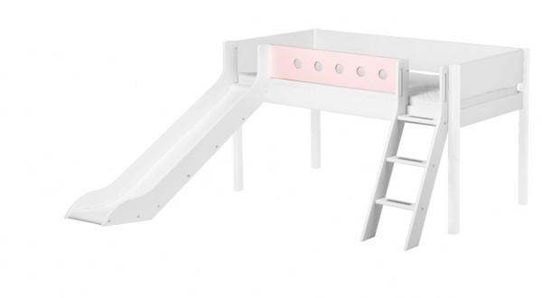 FLEXA Spielbettgestell mit Leiter & Rutsche