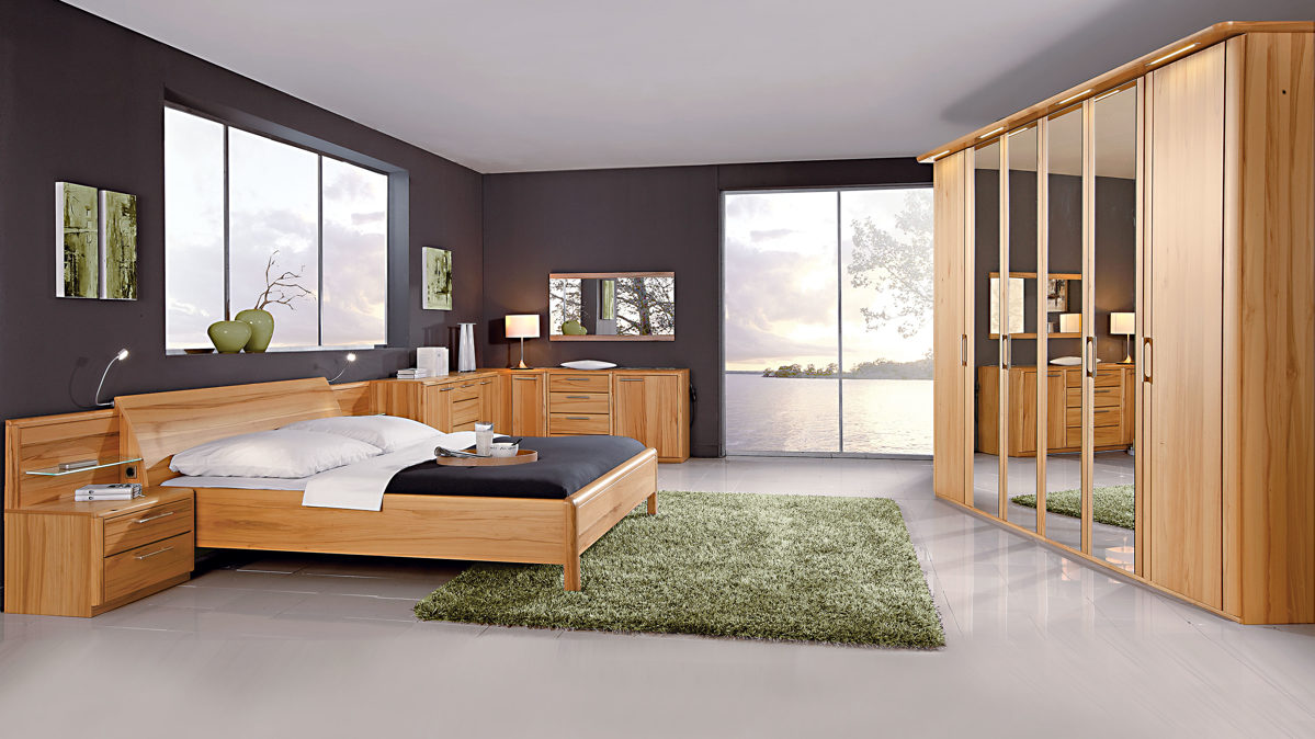 modernes c disselkamp schlafzimmer mit bettgestell glei ner. Black Bedroom Furniture Sets. Home Design Ideas