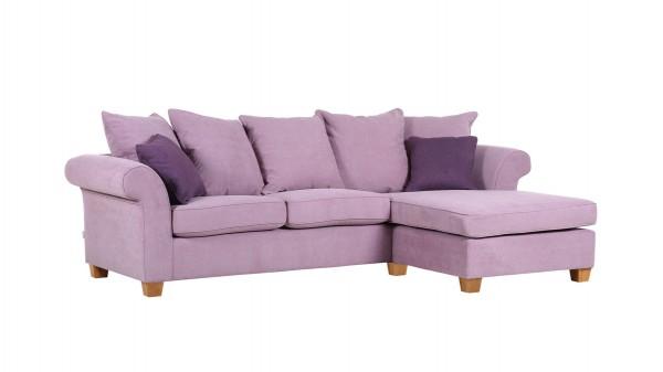 Ecksofa, ein Polstermöbel mit harmonischer Farbgebung