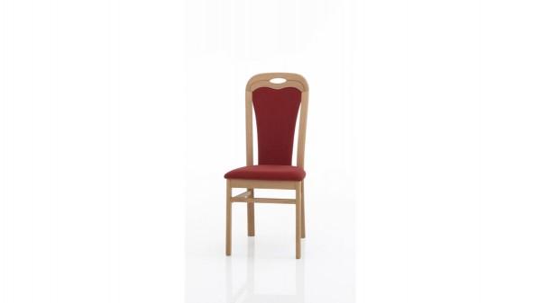 Gepolsterter Vierfußstuhl bzw. Sitzmöbel