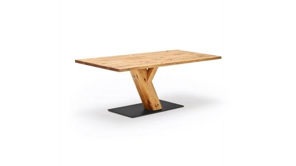 Massivholz-Esstisch