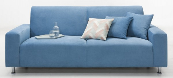 KAWOO 3-Sitzer Julia - Couch mit Bonnellfederkern