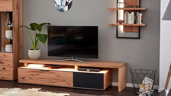 Interliving Wohnzimmer Serie 2005 - Lowboard mit TV-Brücke