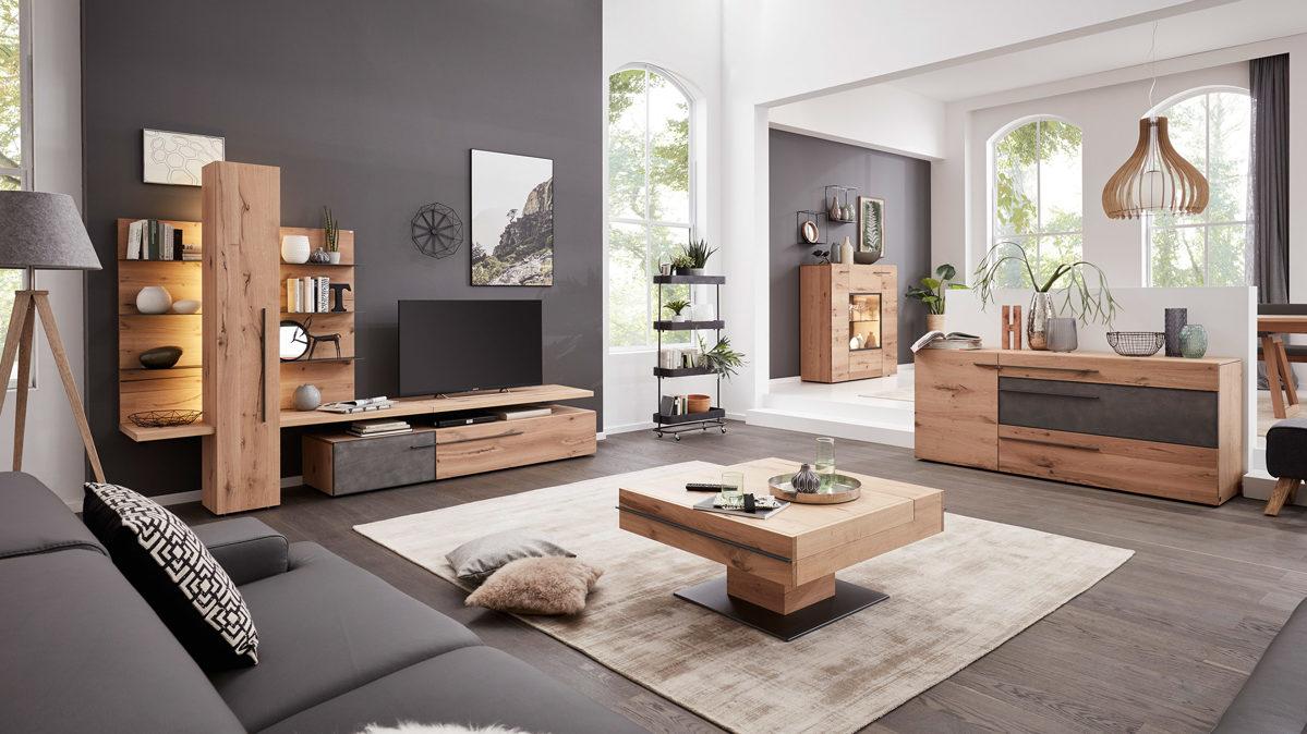 Interliving Wohnzimmer Serie 2004 - Wohnkombination