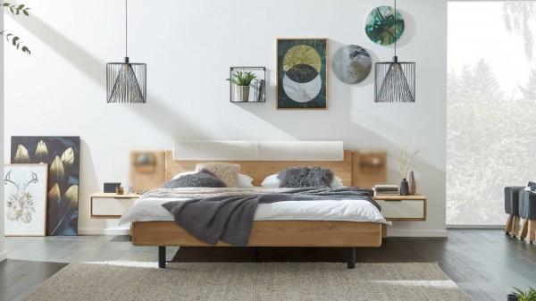 Interliving Schlafzimmer Serie 1015 - Bettgestell 1161 mit Nachtkonsolen