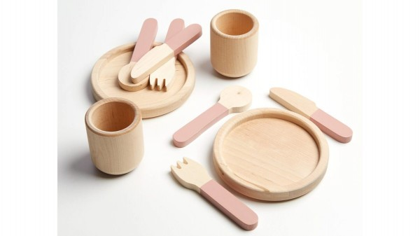 FLEXA Kinder-Küche Geschirr- & Besteck-Set