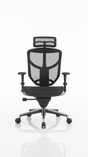 Drehstuhl als Büromöbel mit ergonomischem Komfort