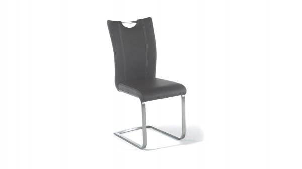 Schwingstuhl, auch als Esszimmermöbel einsetzbar ist