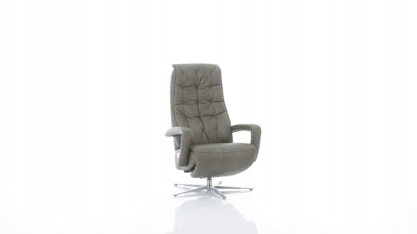 Interliving Sessel Serie 4502 - grauer Relaxsessel