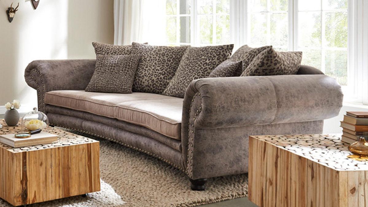 woods trends megasofa bigsofa mit federkern glei ner. Black Bedroom Furniture Sets. Home Design Ideas