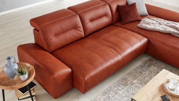 Interliving Sofa Serie 4000 - motorischer Sitzauszug