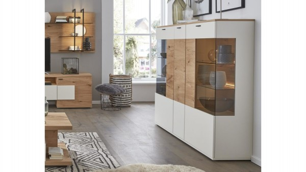 Interliving Wohnzimmer Serie 2104 - Highboard