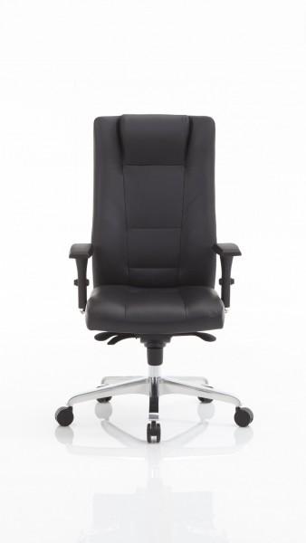 Chefsessel als Drehstuhl mit individuell einstellbarem Sitzkomfort