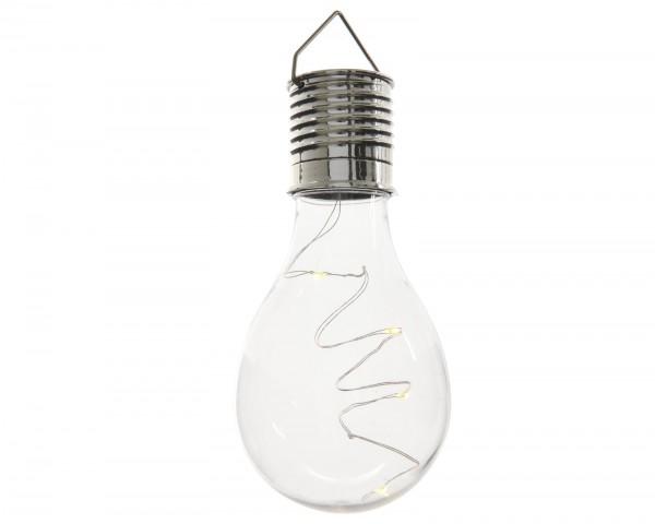 LED-Solarbirnenleuchte Abraham