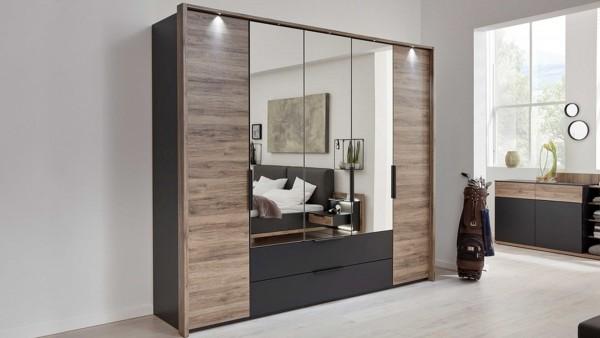 Interliving Schlafzimmer Serie 1007 - Kleiderschrank