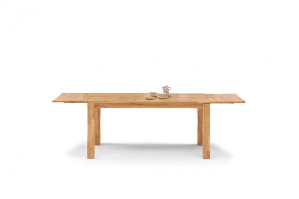 Massivholztisch für natürliche Wohnlandschaften