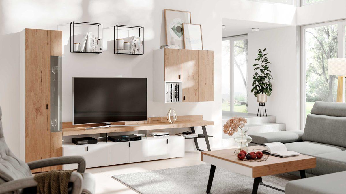 Interliving Wohnzimmer Serie 221   Wohnwand IN21   Interliving ...