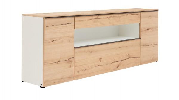 Interliving Wohnzimmer Serie 2103 - Sideboard 560711 mit Beleuchtung