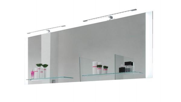 pelipal Badspiegel Solitaire mit Glasablagen & LED-Beleuchtung