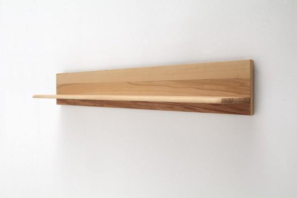 Wandboard mit Rückwand - Wandregal