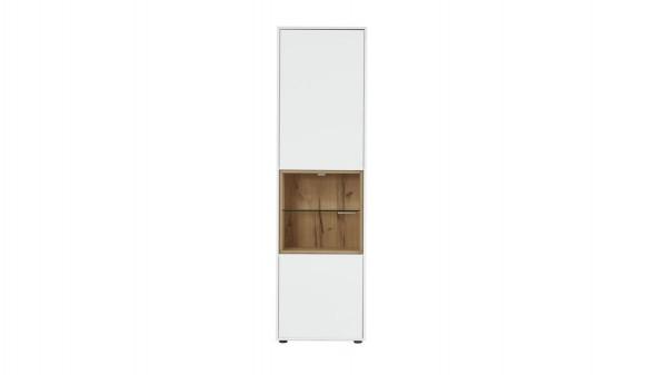 Interliving Wohnzimmer Serie 2102 - Vitrinenschrank mit Beleuchtung