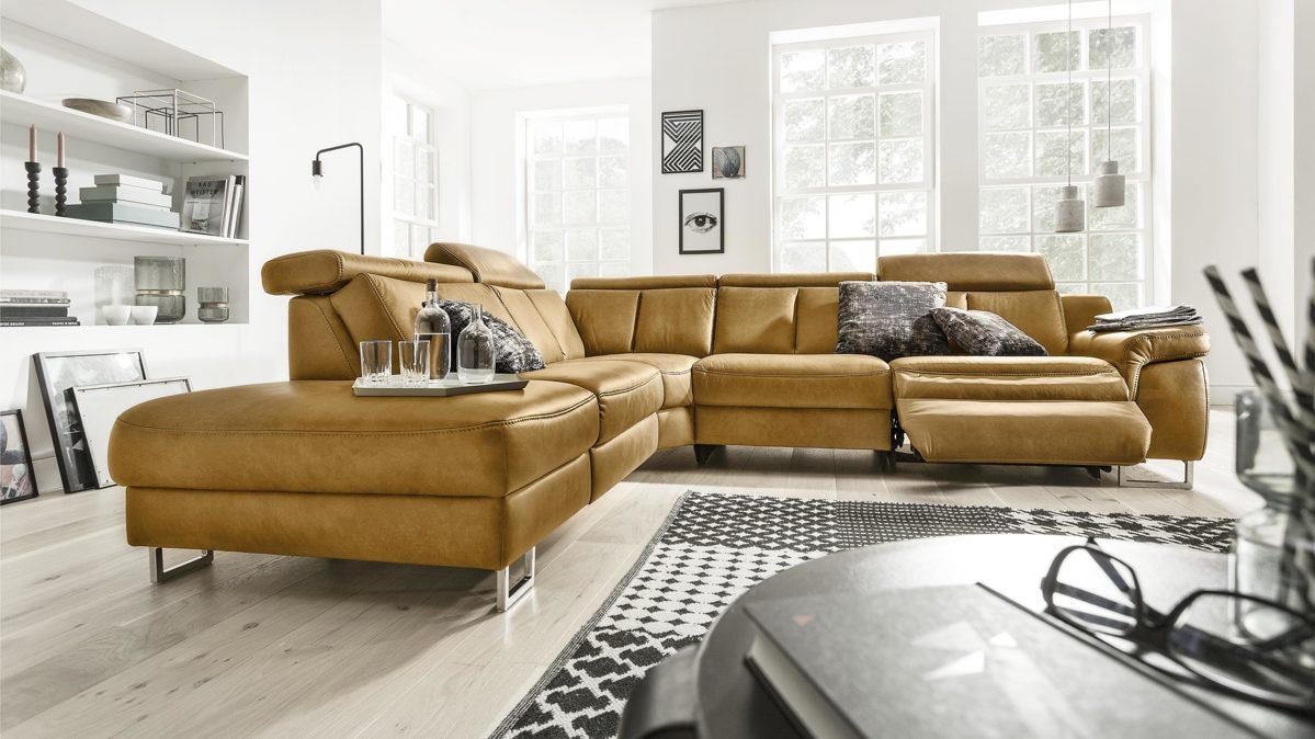 Interliving Sofa Serie 4050 - Eckkombination | Interliving ...