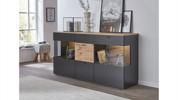 Interliving Wohnzimmer Serie 2104 - Sideboard
