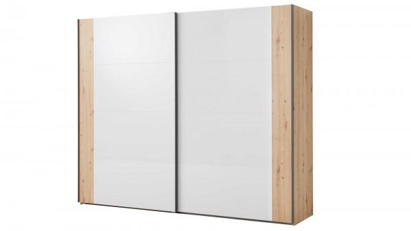 Interliving Schlafzimmer Serie 1021 - Schwebetürenschrank 45L0