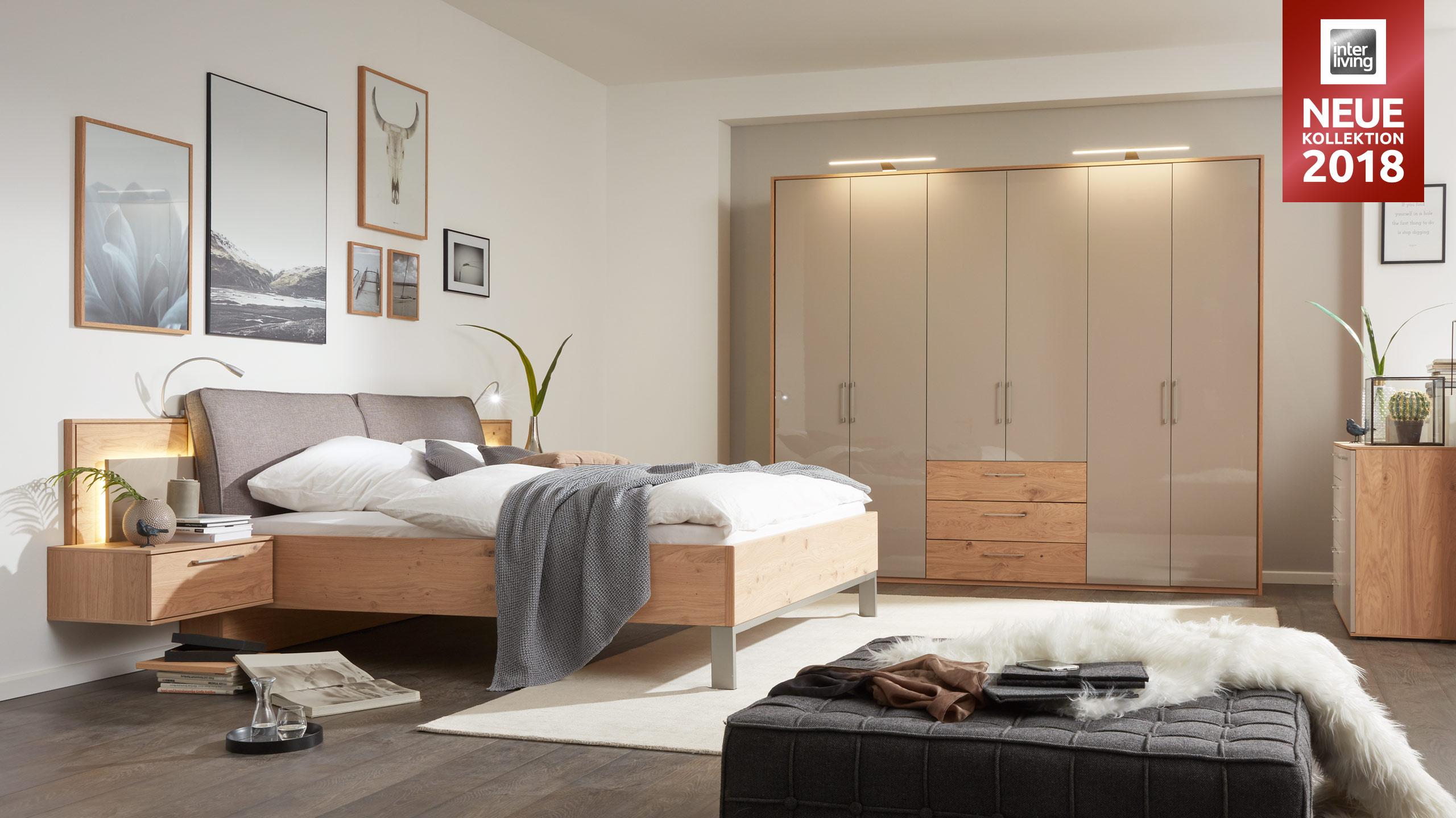 Interliving Schlafzimmer Serie 1008 Schlafzimmerkombination Gleissner