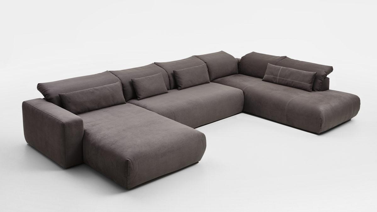 sofakultur eckkombination mit longchair und sofa glei ner. Black Bedroom Furniture Sets. Home Design Ideas