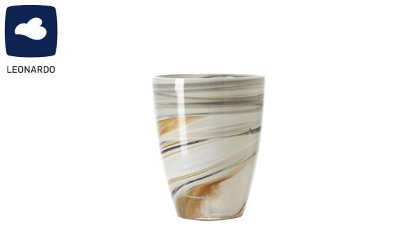 LEONARDO Vase & Windlicht Alabastro