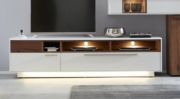 Interliving Wohnzimmer Serie 2102 - Medienboard 510203 mit Beleuchtung