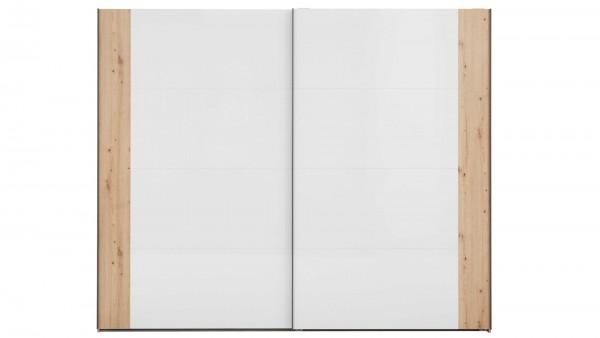 Interliving Schlafzimmer Serie 1021 - Schwebetürenschrank 45L3