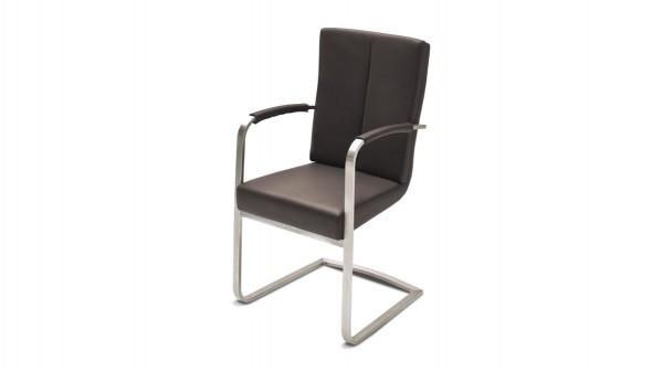 Armlehnstuhl bzw. Schwingstuhl als Freischwinger